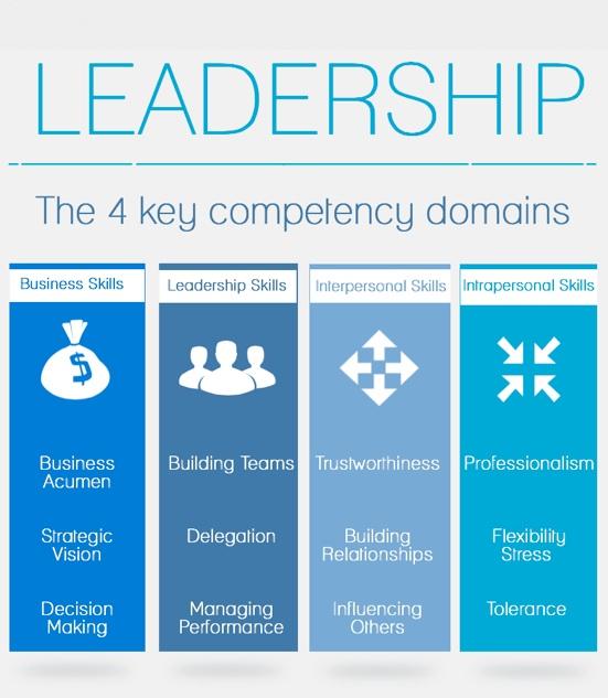 Leadership competencies garbage can model